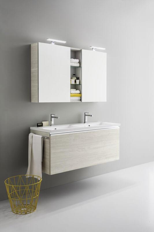 Arredo bagno Milano: mobili, pensili, armadi e specchiere | Planet ...